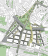 Friargate - plan from above