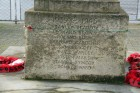Engravings on Walsgrave War Memorial