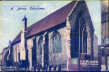 Another postcard showing the Old Grammar School