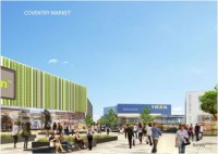 Coventry Market proposed looking from Shelton Square