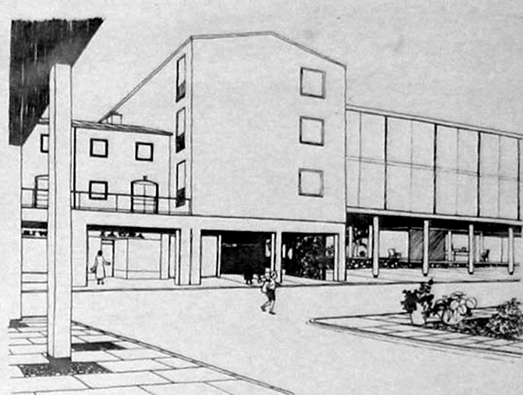 Drawings of Civic Centre 2