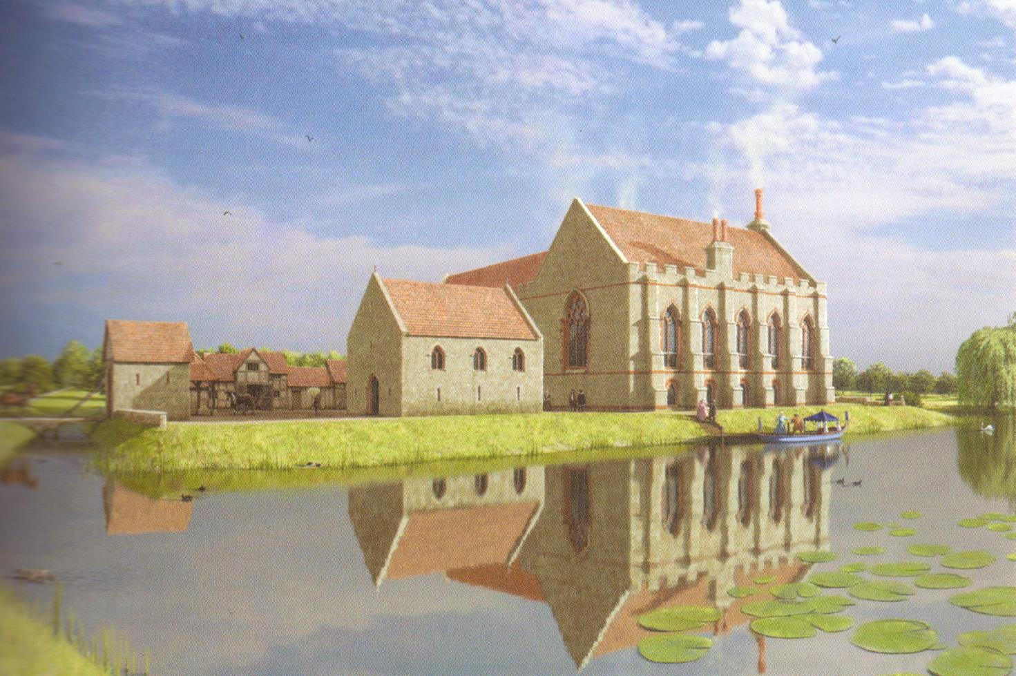 Reconstruction of Caludon Castle