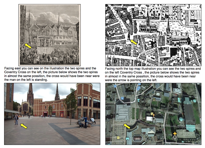 Coventry Cross historic images