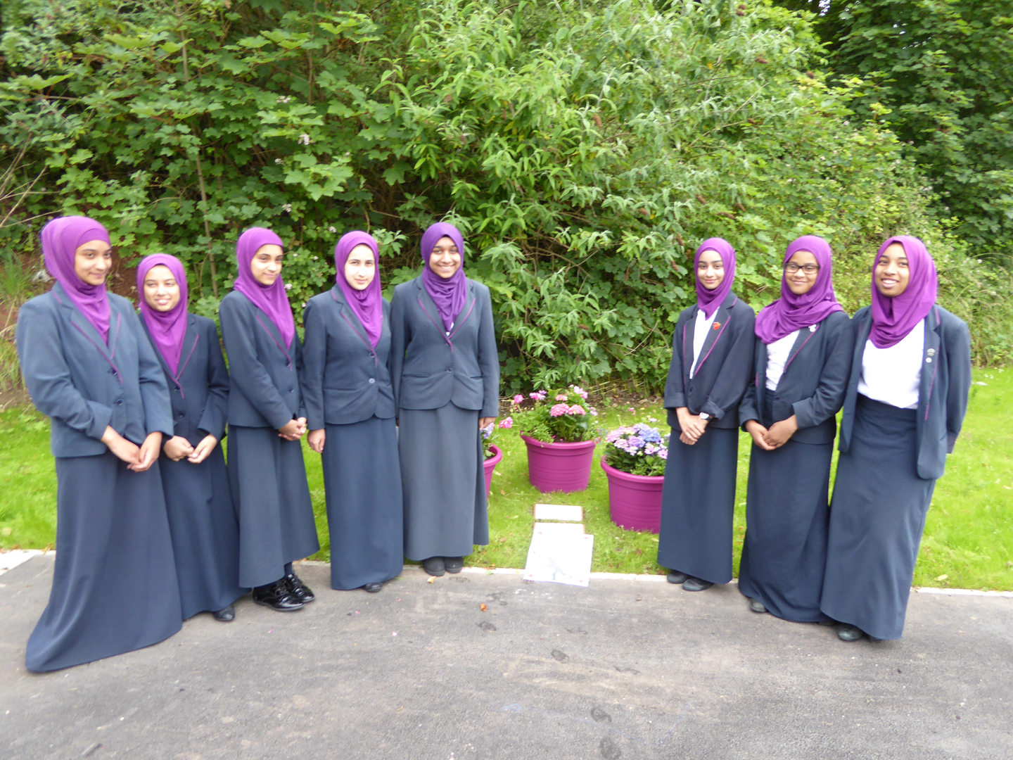 Unveiling of the Eden Girls School memorial