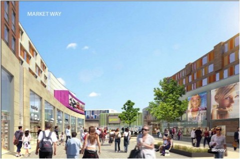 Coventry City Centre regeneration