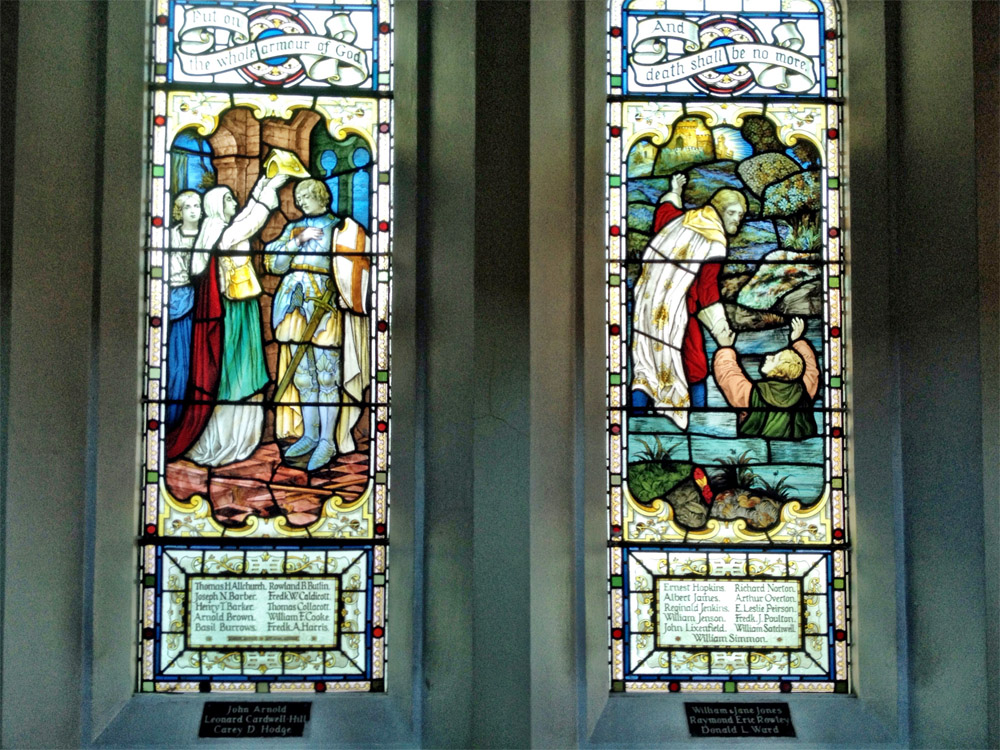Queens Road Memorial Window