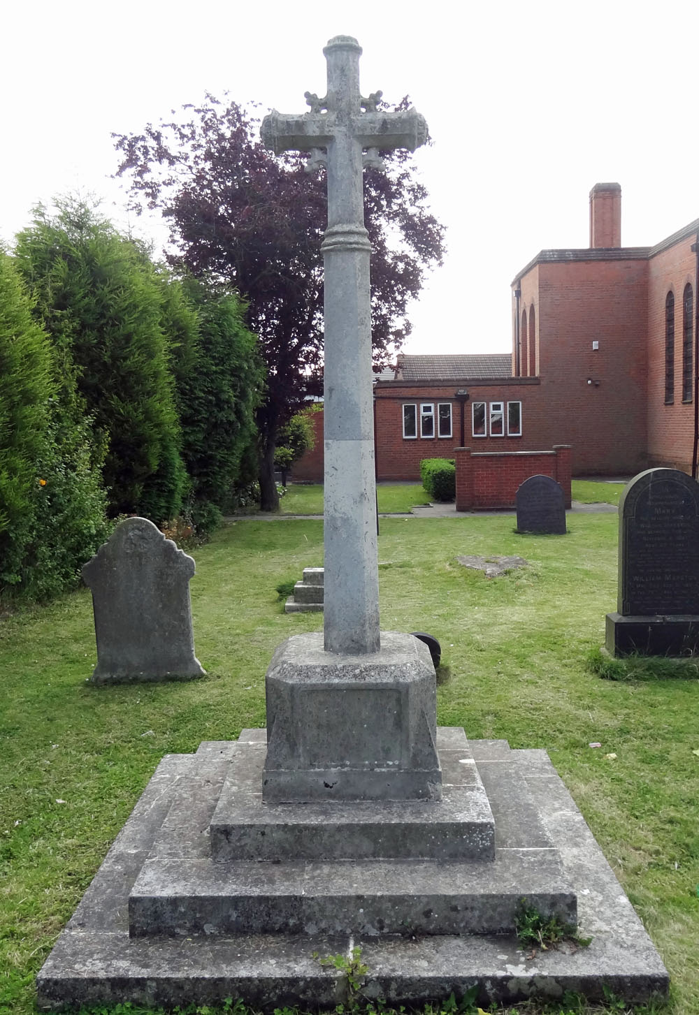 War Memorial at St. Paul's Church, Foleshill