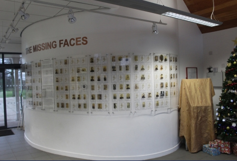Missing Faces Exhibition
