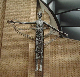 Risen Christ at St. Dunstan's Church, King's Heath