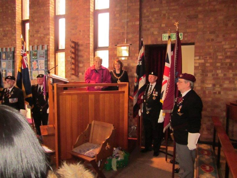 Consecration of memorial at St James Whitley