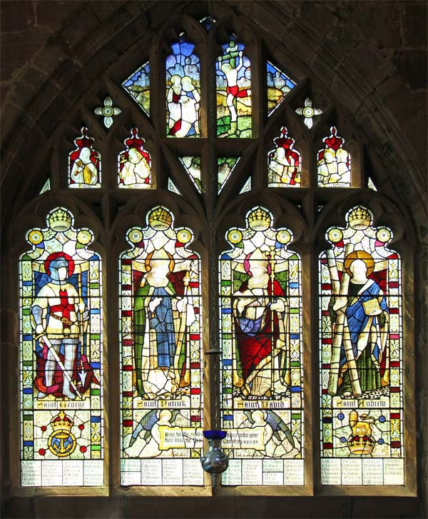 Memorial window St John's