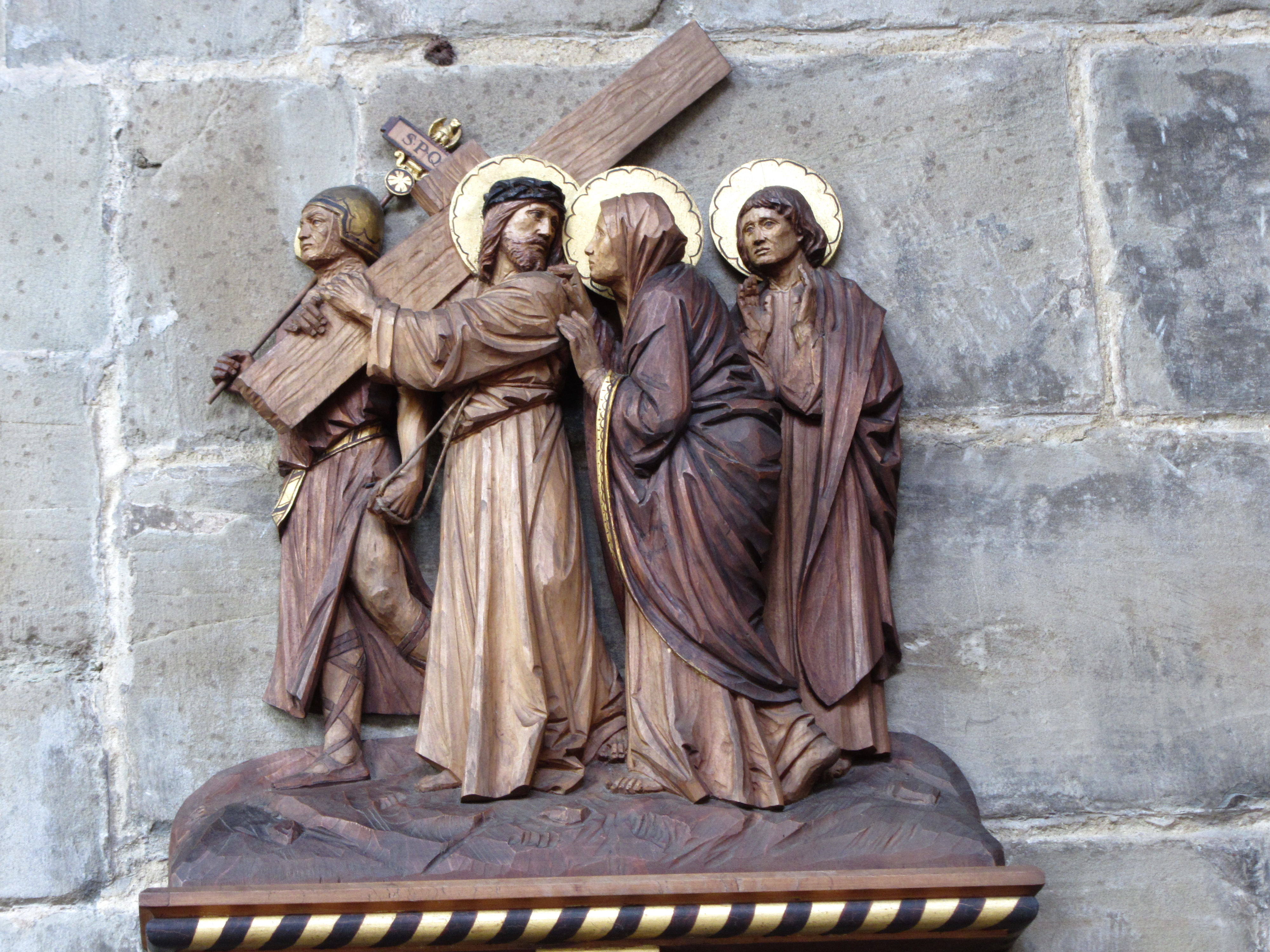Stations of the Cross at St. John's
