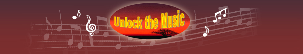 Unlock the music logo
