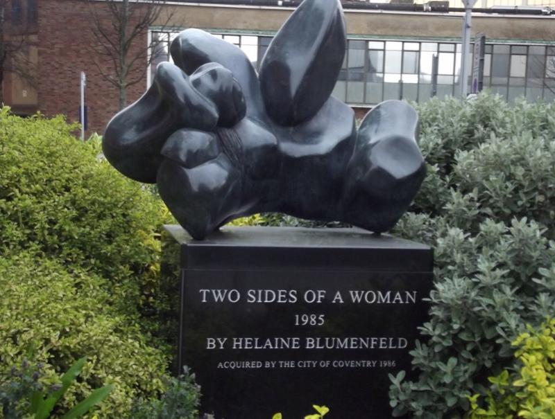 Helaine Blumenfeld - Two Sides of a woman