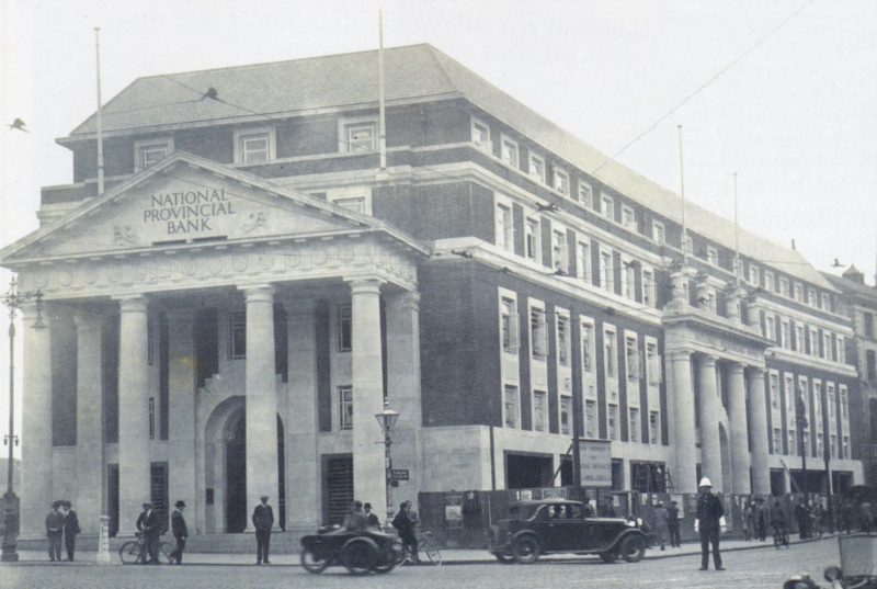 National Provincial Bank - before Broadgate House built